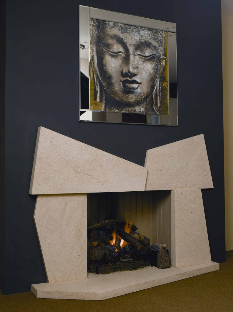 Flintstone Fireplace
