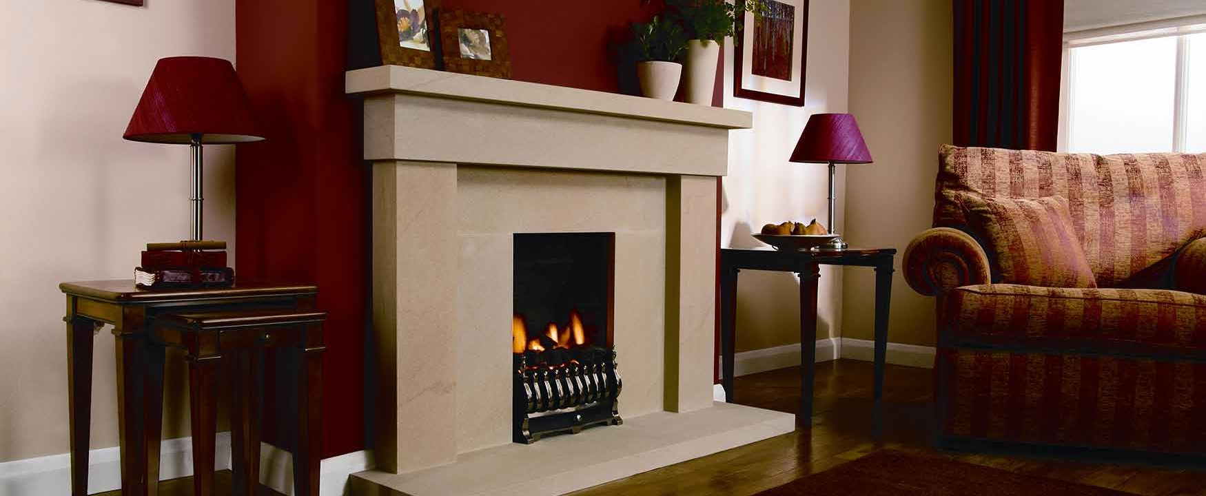 Large Devon Fireplace!