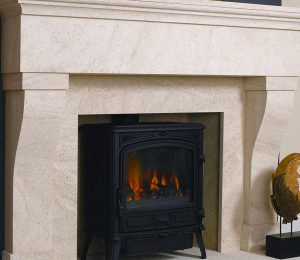One of Our Original Fireplaces