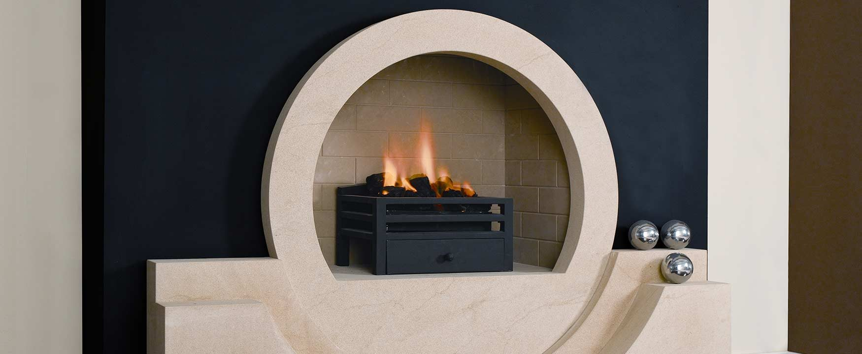 The Halo Fireplace!