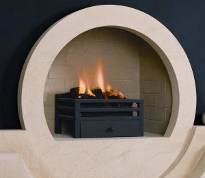 The Halo Fireplace