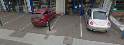 Kedleston Heating Store Parking