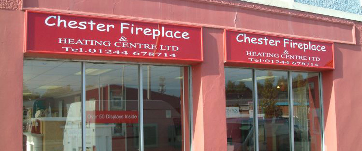 Chester Fireplaces Shop Front