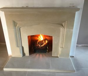 Stamford Stone Fireplace Installation